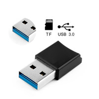 Wholesale mini laptops tablets online - USB Card Reader for Micro SD Card TF Memory Card Mini Portable USB3 OTG for Tablets PC Laptop Computer
