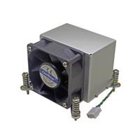intel i7 1156 großhandel-2U Server CPU-Kühler Kupferfuß + Kühlkörper aus Aluminiumlamelle für Intel 1150 1151 1155 1156 i3 i5 i7 Aktive Kühlung