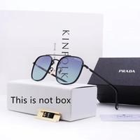 ingrosso occhiali da sole gatto nero occhiali da sole europa-Occhiali da sole di design Occhiali da sole di lusso Designer Glass for Man Occhiali da uomo UV400 con scatola Marchio di alta qualità P41 5Color 2019 New Hot