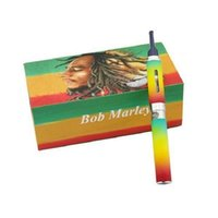 tanque de erva mod venda por atacado-Bob marley vaporizer pen for herb e cigarette statrer kits vape mod with tank glass atomizer vaporizer vape pen 510 thread battery