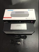 Wholesale mini protable bluetooth resale online - Bluetooth soundlink Mini Speaker Protable Wireless Stereo Music Sound Box Audio Super Bass U Disk TF Slot With Handle