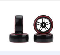 Wholesale hpi drift wheels for sale - Group buy 4Pcs Set RC Drift Car Hard Tyre Wheel Rim Tires for Traxxas Tamiya HPI Kyosho On Road Drifting Car
