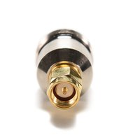 Wholesale sma male to n female for sale - Group buy N Type Female SMA Male Straight RF Coax Connector New Wifi Antenna Adapter Male To N Female