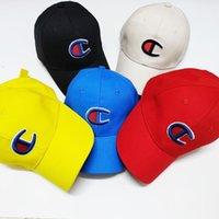 ingrosso visiera sunhat ragazza-Bambini lettera stampata cappelli 5 colori ricamo cappello da baseball ragazzi ragazze sport snapbacks bambini sunhat cappello visiera regolabile OOA6653