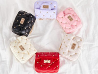 Wholesale stylish girls bags resale online - Bags For Baby Girls Toddlers Mini Handbag Small Rivet PU Shoulder Bags Children Classic Stylish Coin Purse Candy Color
