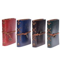 libros clásicos al por mayor-Nuevo libro de viaje del jardín de la vendimia libros de papel kraft diario espiral Cuadernos de pirata estudiante de la escuela barata libros clásicos