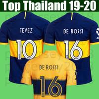 en iyi futbol formaları toptan satış-Top thailand quality 19 20 season soccer jerseys 2019 2020 football shirt soccer tops home away 3rd men and kids set