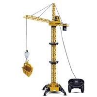 controle remoto para o guindaste venda por atacado-Controle remoto de controle de veículo de brinquedo das crianças do veículo guindaste de torre grande torre de suspensão