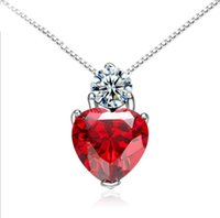 c42ea0387d2b Venta al por mayor de Collar Rojo Pendiente Granate - Comprar Collar ...