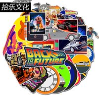 Wholesale phone back stickers for sale - Group buy 50 Car Stickers back to the future For Laptop Skateboard Pad Bicycle Motorcycle PS4 Phone Luggage Decal Pvc guitar Stickers