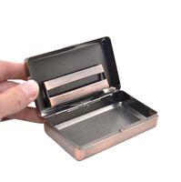 Wholesale new metal cigarette case for sale - Group buy 2020 NEW Portable metal cigarette case metal cigarette case moisturizing box