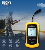 Wholesale sonar fishing finder lcd resale online - LUCKY FFC1108 M Portable Sonar LCD Fish Finders Fishing Tools Echo Sounder Fishing Finder Colorful Screen