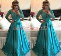 Wholesale dresses for sale - Group buy Trendy Long Sleeve Beads Evening Dresses Sheer Hunter Arabic Plus Size Formal Guest Party Prom Gown Pageant Cheap Occasion Robe De Soiree
