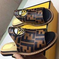 keilsandalen größe 42 großhandel-Sandalen Hausschuhe Mode Keil Sandale Designer Schuhe Damen Designer Schuhe MIT ORIGINAL BOX Heißer Designer Handarbeit Größe: 35-42 Mit Box FD2