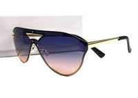 neue randlose titanrahmenmarken großhandel-New Medusa Sonnenbrille randlosen Rahmen Männer Frauen Markendesigner Vintage Shades Brillen Sommer Stil Oculos de Sol mit Box Fall