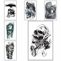 Large Arm Temporary Tattoo Fashion Style Body Art Removable Waterproof Tattoo Art Sticker HHA250