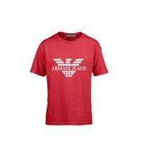 küçük çocuklar tişörtler toptan satış-Çocuk Kısa Kollu Yaz Bakımı 2018 Yeni Desen Karikatür Baskı Ceket Orta ölçekli Ve Küçük T sevimli T-shirt erkek giyim