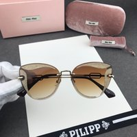 Wholesale frame 62 for sale - Group buy Miu Elegant women sunglasses fashion all kinds of sunglasses face flashing powder carved petals special craft sunglasses