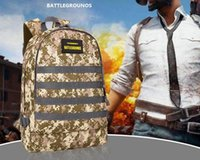 Wholesale free games online for sale - hot Online game Jedi survival Level Backpack Student Computer Bag Waterproof Camouflage Mountaineering Bag NO