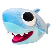 Wholesale cute stuffed monkey plush resale online - Baby Shark Plush Toy Big Eye Stuffed Animals Dolls Kids Blue Childrens Day Gifts Cute yb F1