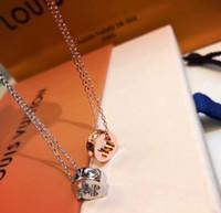 14k enlaces cubanos al por mayor-EMPREINTE 18K collar de oro de lujo diseñador de la joyería de las mujeres collar de cadenas de hielo para hombre 14k cadenas de oro enlace diseñador cubano joyería