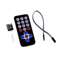 kit de control remoto diy al por mayor-Kits de módulos de control remoto inalámbrico IR de infrarrojos de Smart Electronics para Arduino DIY Kit