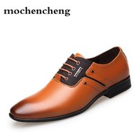 ботинки оптовых-Big Size Men Dress Shoes Quality Men Formal Shoes Lace-up Business Oxford  Wedding Pointy