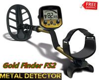 detector de búsqueda al por mayor-2019 estrenar del metal del oro del detector del buscador de oro caza exhibición de la joyería del tesoro búsqueda del LCD
