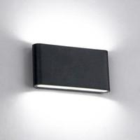 interruptor de aplique de pared vintage al por mayor-6W / 12W LED Lámparas de pared para exteriores IP65 Lámpara de pared a prueba de agua Luz interior para interiores Escalera de luz AC85-AC265V Iluminación de pasillo luces de pared