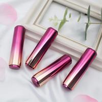 Wholesale smoked purple lipstick for sale - Group buy New Pattern Smoked Gradual Purple Lipstick Tube DIY Cosmetics Press Bounce Empty Lipstick Tubes Shell Fashion Gift lsaH1