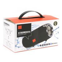 dans su hoparlör taşınabilir mini usb toptan satış-Bluetooth hoparlör mini Xtreme açık taşınabilir kayışları ile subwoofer kablosuz stereo hoparlörler MP3 müzik çalar VS ŞARJ 3