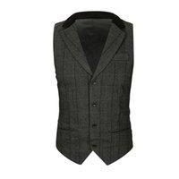 ingrosso maglia invernale stile uomo-Mens autunno inverno Casual Pocket Beston Droit Gilet Vest giacca di colore puro T shirt uomo Top Tees Slim Vest Coat