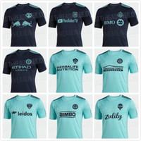 camisa de futebol new york venda por atacado-MLS 2019 Parley FUTEBOL JERSEY LAFC atlanta unida New York city Los Angeles união Filadélfia Seattle Sounders toronto camisas de futebol