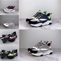 sapatos da marca francesa venda por atacado-Hot new alta qualidade B2 homens lona de pele de bezerro moda senhoras sapatos casuais sapatos de marca francesa designer ocasional