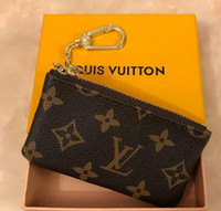 bolsa de mala de design venda por atacado-França estilo de design bolsa de moedas homens mulheres senhora carteira de chave de bolsa de couro de luxoLouisVuittonnúmero de série da mini carteira