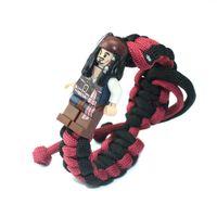 einstellbares paar armband großhandel-2019 The Avengers verstellbares Seil Armband New Style Thanos Weave Paracord Armband Venom Armband für Frauen oder Mann Paar Geschenk