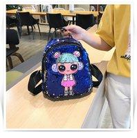 ingrosso tipi borse per ragazze-24 tipi di stili Little Unicorn Kids Children Toddler School Borsa multiuso per zaino con paillettes per ragazze