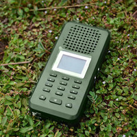 Wholesale decoy mp3 resale online - 20W Db Bird Caller Decoy Mp3 Player Loud Speaker Eu Plug