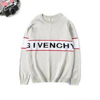 hommes t shirts etoiles achat en gros de-Givenchy 19ss nouveau Printemps Hiver Europe Paris American Stars Mode Hommes Pull Sport Casual Femmes classique t-Shirt Pullover homme O-Cou Tricots