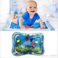 tapis de jeu achat en gros de-Tapis gonflables de l'eau de bébé jouant des pagaies d'été tapis rampants de tapis de jeu rampants tapis de tapis tapotant le tapis de plancher de chambre d'enfants