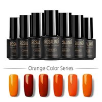 Wholesale Pumpkin color orange yellow nail polish Polish elegant temperament pure solid color nail art