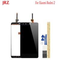 сенсорный экран дисплея lcd телефона оптовых-JRZ Для Xiaomi редми 2 ЖК-дисплей и сенсорный экран Замена Digitizer Ассамблеи для Xiaomi редми 2 Аксессуары для телефонов + Инструменты