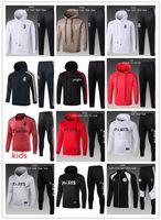 Wholesale boys hoodies for sale - Real Madrid hoodie Juventus kids survetement jacket Training suit soccer Jersey tracksuits psg Uwen paris tracksuit football jacket tracksu