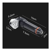 bisiklet dönüş sinyal lambaları toptan satış-1 Çifti Bisiklet Kol Bar Bitiş Fiş Işık Bisiklet Güvenlik SEC88 Şarj Sinyal LED Lamba USB çevirin