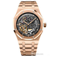 Wholesale man watch for sales for sale - Group buy 2019 hot sale Mens Watches Automatic Mechanical Watch For Men Full Stainless Steel transparent cover Mens Wristwatch free shippin