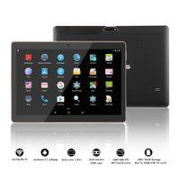 tablet dual camera gps 16gb venda por atacado-Tablet 2 + 16GB 10.1 polegadas tablet portátil, 1280 * 800 IPS tela grande GPS Bluetooth 3G / WiFi cartão dual câmera dupla (preto)