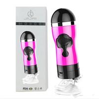 tasse erwachsenes produkt für männer großhandel-Wunderbare männliche Masturbation Schock Flugzeuge Tasse freihändige männliche Vibration Spielzeug für Erwachsene Produkte Sexspielzeug für Männer