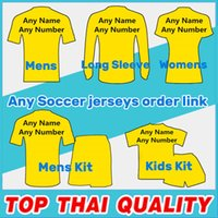 Wholesale soccer jersey team kit white for sale - Group buy Football Clubs national teams Jersey Football jerseys Shirts kids kit man woman Soccer Jersey tracksuits Jacket sweater Order Link