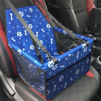 Wholesale travel products accessories resale online - Pet Dog Carrier Car Folded Seat Pad Safe Carry House Cat Puppy Bag Car Travel Accessories Waterproof Dog Seat Bag Basket Product