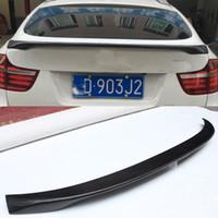 ingrosso spoiler del tronco bmw-Tronchetto a forma di tronco in fibra di carbonio stile Lip Spoiler X6 E71 X-Drive Fit per BMW